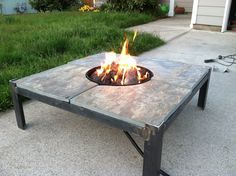 Fire Table Welding Project. Feel the heat. Josh can make this for me!