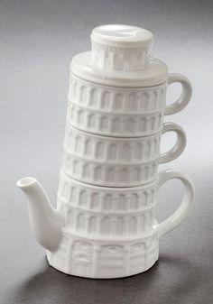 Pisa and Quiet Tea Set, #ModCloth @Sherry Schatz