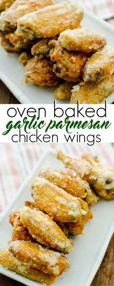 Simply the best keto garlic parmesan wings recipe. Crispy oven baked