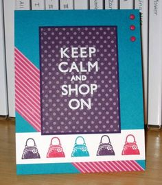 Shop On by Christy S. - Cards and Paper Crafts at Splitcoaststampers