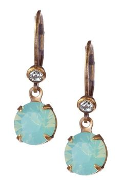 Swarovski Crystal Small Round Drop Earrings.  I don't really need these but they are beautiful!!