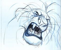 Lion King Concept Art Mufasa Animation