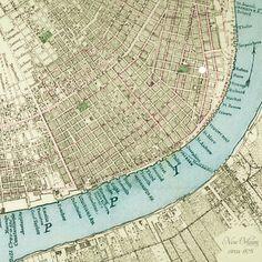 New Orleans circa 1878.