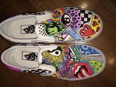 85fbd30bc2 customized Vans® · Custom Slip On ...
