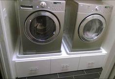 IKEA BESTA washer/dryer pedestal