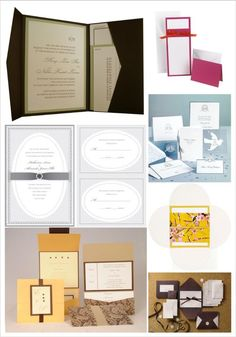 pictures of homemade wedding invitations | diy wedding invitations