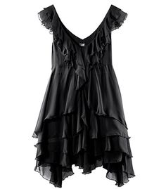 This paired with funky colored stockings/tights or leggings would be a cool Halloween outfit