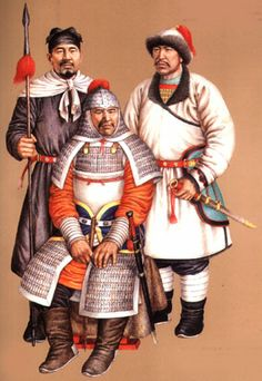 Jurchen (Jin) Dynasty warriors.  After a series of raids conducted all along Liao's western frontiers, Aguda went over to a general attack and began taking the Liao subordinate capitals one by one, sometimes with the help of the native Chinese dynasty occupying the rest of China, the Northern Song (960–1126). Aguda died before completing his conquest of Liao, but his successor Wuqimai, or Taizong (1075–1135), not only completed his task, but even began a massive invasion of Song.