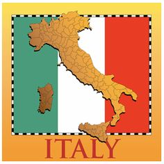 Free Printable Flag of Italy   See All Our New Country Map and Flag Gifts and Products, Shirts ...