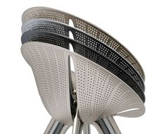 5osA: [오사] :: [ ross lovegrove ] infinitely stackable diatom chair for moroso