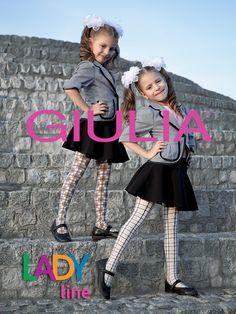 Rajstopy dla dziewczynek do szkoły, w ogrodzie, teen: wzór, wzór, delikatna, świąteczne | Giulia ™