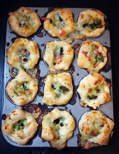 Pizza Muffins on Cool Mom Picks