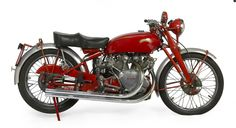 One of only 15 ever produced, this 1950 Vincent Series C White Shadow as it was last sold ...
