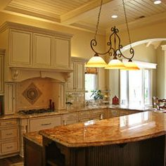 contemporary kitchen by Landmark Builders