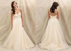 """Ivy & Aster """"Duchess"""" wedding gown, available at Something White, A Bridal Boutique"""