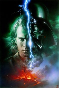 Anakin Skywalker/ Darth Vador...one in the same...