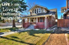 Denver Craftsman Bungalow listed by @Mic Ortega for LIVE Urban Real Estate...practically perfect in every way!