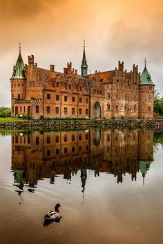 """wnderlst: """"Egeskov Castle, Denmark"""""""