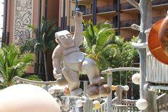 Disney's Aulani Resort and Spa Menuhene at the Menuhune Bridge.