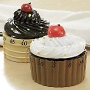 60-minute cupcake timer. Now this is cute.