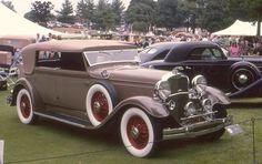 1931 Lincoln Dietrich convertible sedan by carphoto, via Flickr