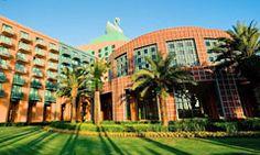 Walt Disney World Swan Resort in Florida is a wonder-filled, water-themed hotel designed by award-winning architect Michael Graves.