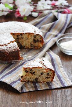Torta ricotta e cocco (senza glutine) golosa , soffice e facile da preparare. Ideale da servire per colazione o merenda. Ricetta con video.