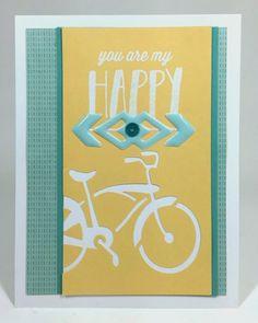 Cricut You are My Happy card