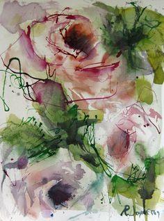 Rose Flower Painting