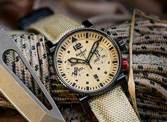 Hanhart - Primus Desert Pilot Dark | Time and Watches | The watch blog