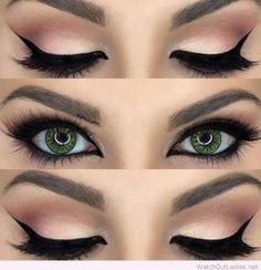 Eye Makeup For Green Eyes | Makeup Looks For Green Eyes
