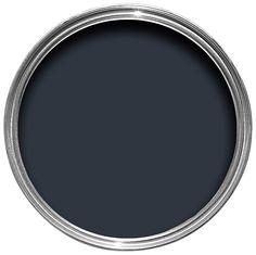 Colours Premium Deep Blue Sea Matt Emulsion Paint 2.5L   Departments   DIY at B&Q
