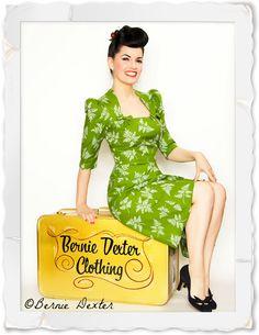 Bernie Dexter propose des robes vintage style années 40 et 50