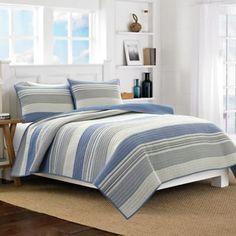 Nautica® Mondrian Quilt in Blue - BedBathandBeyond.com