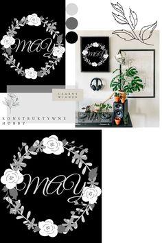 Darmowe plakaty do druku. # 7 MAJOWY WIANEK. CZARNY. Wianek majowy zaprojektowany z myślą o miłośnikach czerni. Diy, Home Decor, Decoration Home, Bricolage, Room Decor, Do It Yourself, Home Interior Design, Homemade, Diys
