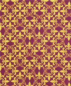 purple-red yellow ornament butterfly fabric by Kokka 3