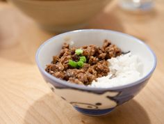 Gojee - Taiwanese Meat Sauce over Rice by Tiny Urban Kitchen