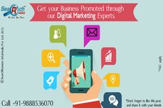 Get your #business promoted through our #Digital #Marketing #experts. Visit: http://searchrunners.com/ or call us at : +91 9888536070.