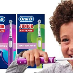 Oral-B Junior Electric Toothb. 6 Years, Teeth, Electric, How To Remove, Motivation, Children, Tips, Things To Sell, Products
