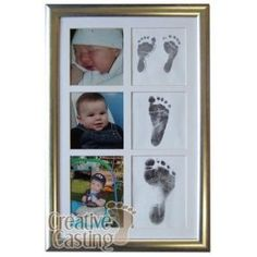 Baby's 1st Year Photo & Footprint Kit
