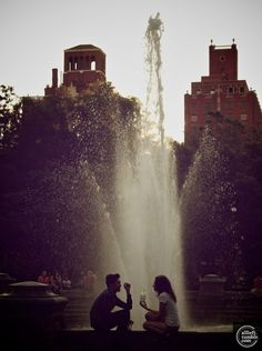 Falling in love in Washington Square Park. Is it too much to ask?