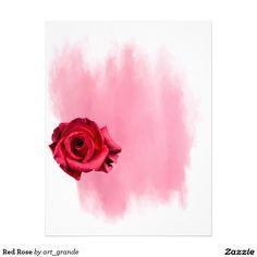 Red Rose Letterhead
