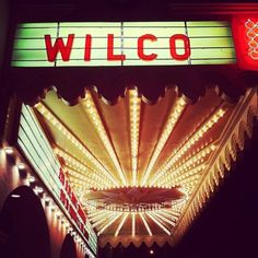 I've seen the boys of Wilco LIVE 3 times now!
