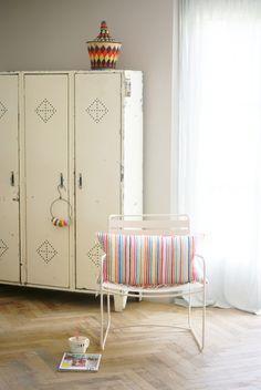 wood & wool stripes & harlequins pillow | Flickr - Photo Sharing!