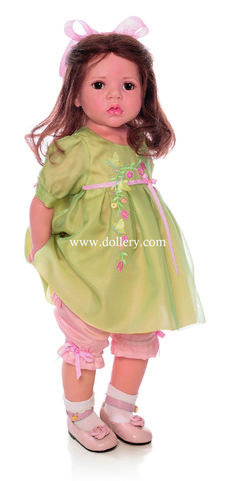"Hildegard Gunzel Collectible Dolls;  ""MARTA"" is a $1500 doll."