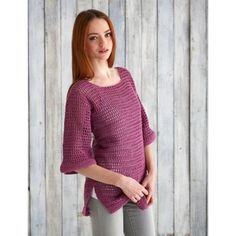 Free Easy Women's Sweater Crochet Pattern