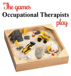Wow, did this sandbox bring back memories : ) Work on sensory processing, in-hand manipulation, manual dexterity, fine motor precision. Visit my blog at The Playful Otter to learn different ways to use this activity.