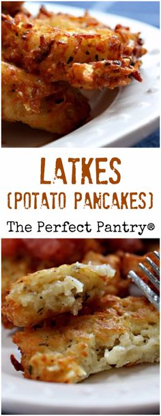 Latkes (potato pancakes) make a delicious vegetarian main course, breakfast, or appetizer at any time of year.