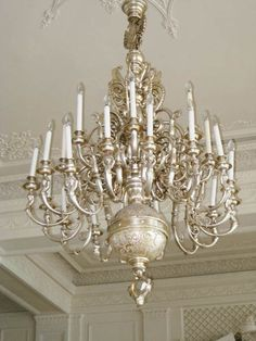 The chandelier is currently being carefully restored by Archistoric Products, who is skilled restoration company in Chicago. Description from thelifeofluxury.com. I searched for this on bing.com/images