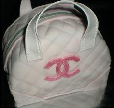 Chanel purse cake  www.facebook.com/SweetsbyRose